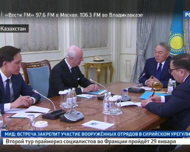 Переговоры в Астане: решается судьба Сирии