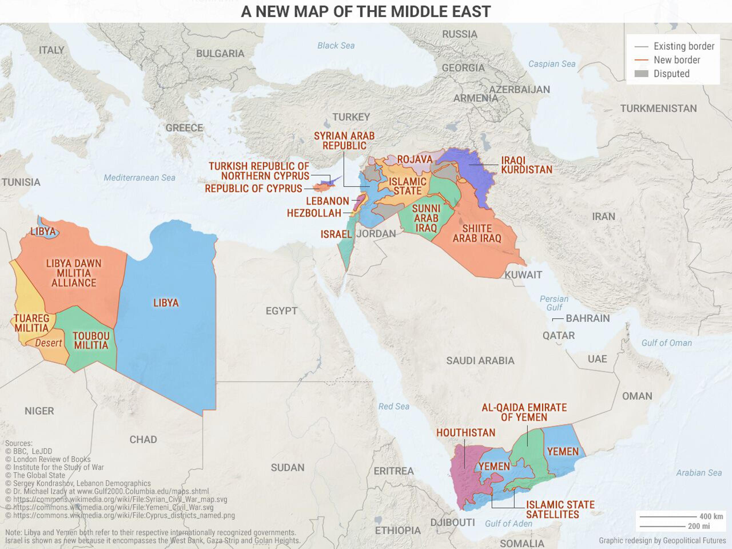 Мировая геополитика-2017 в четырех картах