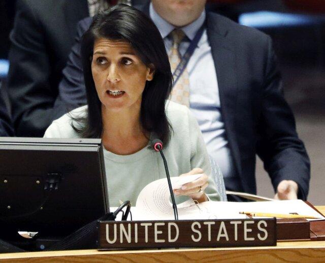 Постпред США при ООН назвала условия отмены санкций, связанных сКрымом