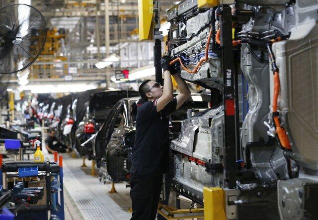Объем индустриального производства Германии неожиданно снизился вначале зимы