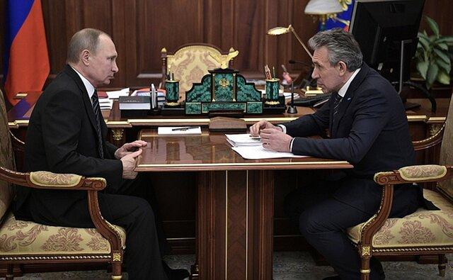 Руководитель ВЭБ поведал Путину обокончании антикризисного этапа развития