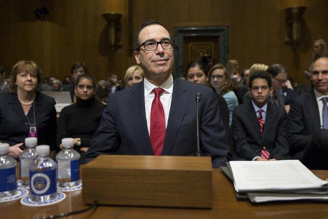 Сенат утвердил Стивена Мнучина надолжность руководителя министра финансов США