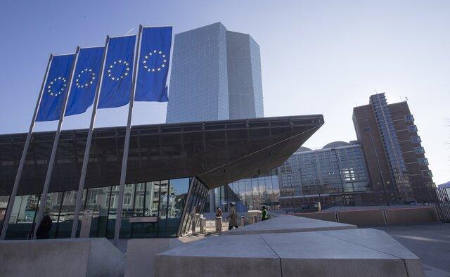 Оценка роста ВВП еврозоны неожиданно снижена