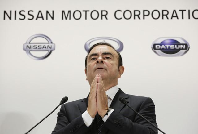 Глава Nissan Карлос Гон уходит со своего поста