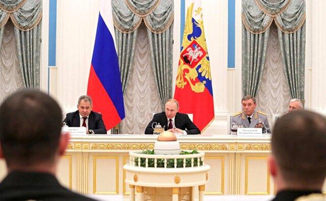 Русская армия способна показать любую агрессию— Путин
