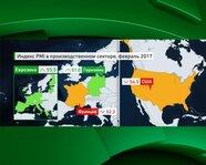 Еврозона, США: Индекс PMI в производственном секторе
