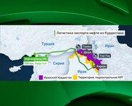 Логистика экспорта нефти из Курдистана