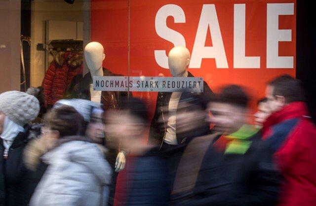 Розничные продажи вГермании уменьшились замесяц практически наодин процент