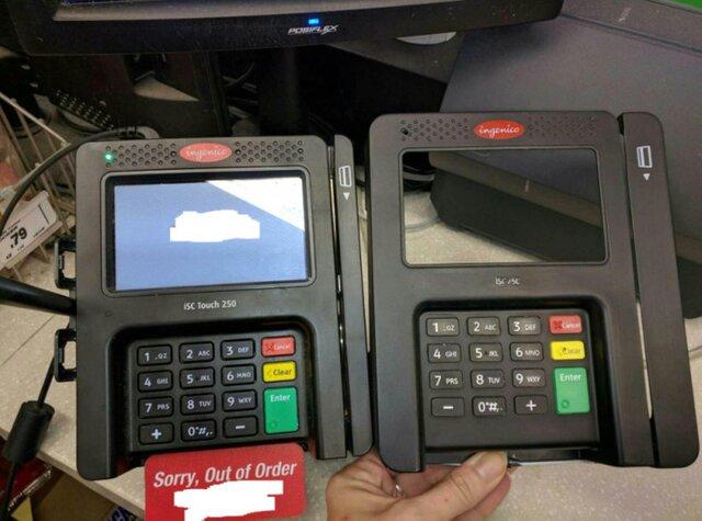 Телефон Самсунг переоборудовали вустройство для кражи данных банковских карт