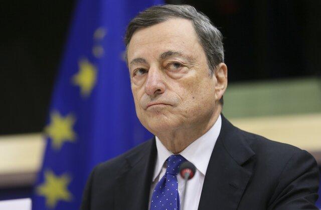 Драги представил новые прогнозы роста экономики иинфляции