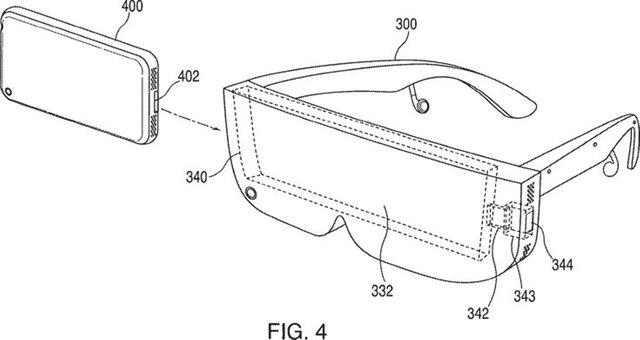 Apple получила патент наочки виртуальной реальности