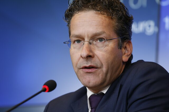 Глава Еврогруппы ненамерен уходить вотставку из-за «ксенофобских» высказываний