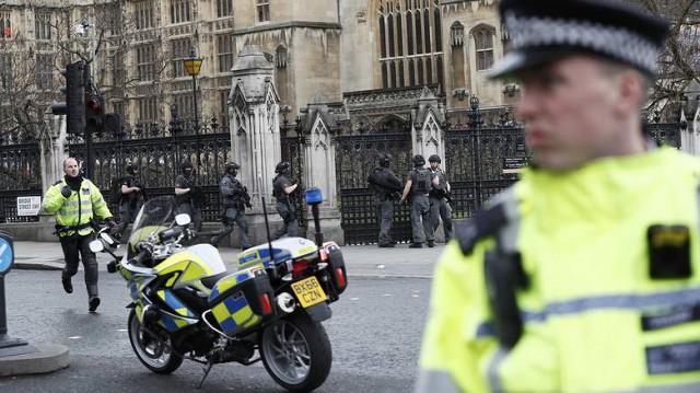 Террористический ремейк напротив парламента Британии