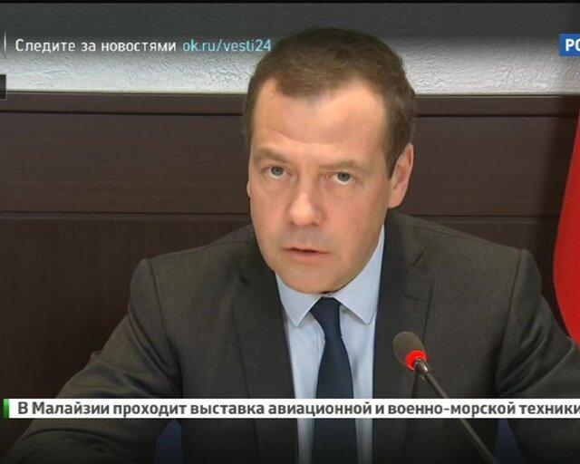 """Медведев: льготный период в системе """"Платон"""" может быть продлен"""