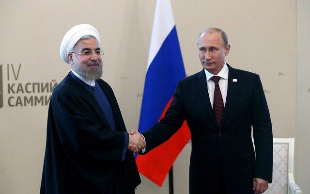 Путин: СотрудничествоРФ иИрана позволило установить перемирие вСирии
