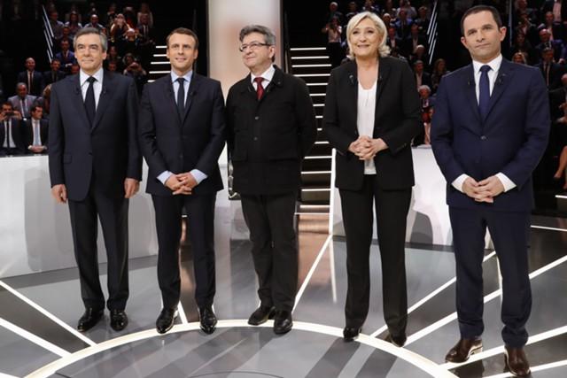 10 фактов о президентской гонке во Франции