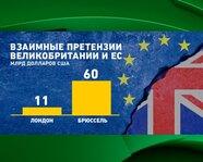 Взаимные претензии Великобритании и ЕС