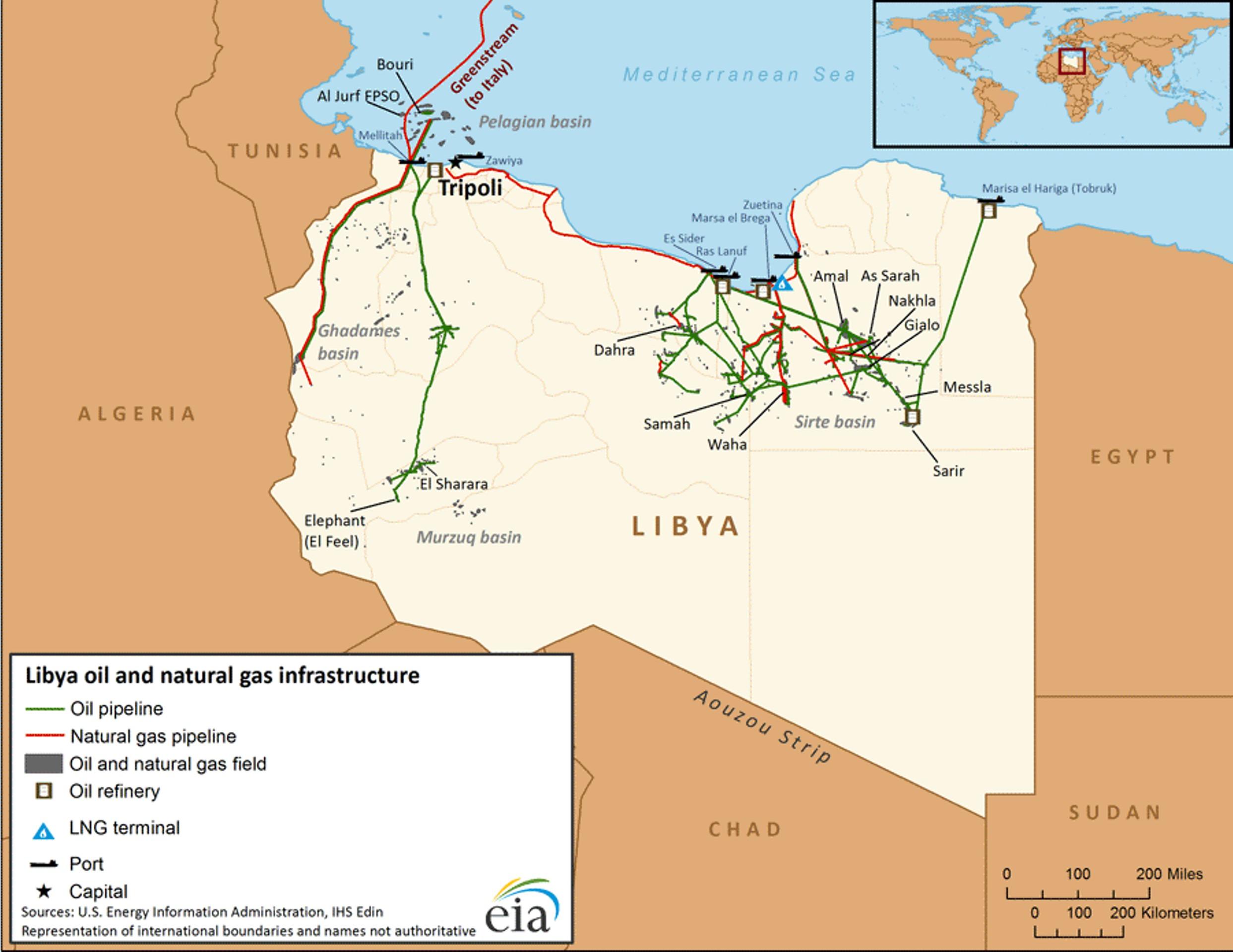 Восстановление добычи в Ливии ударит по планам ОПЕК