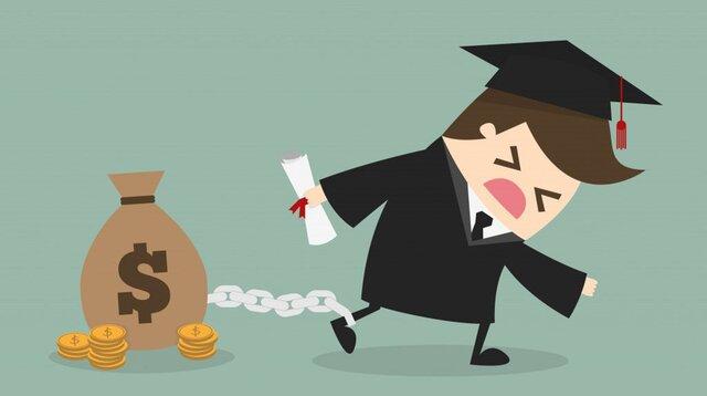 Число дефолтов по студенческим долгам в США растет