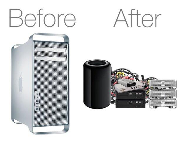 Apple «полностью переосмысливает» Mac Pro