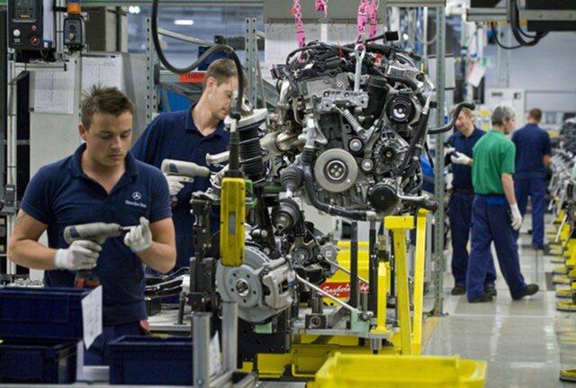 Объем индустриального производства вГермании значительно выше прогноза экономистов