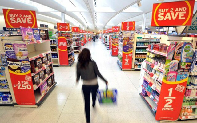 Индекс потребительских цен вБритании вначале весны выше целевого уровня
