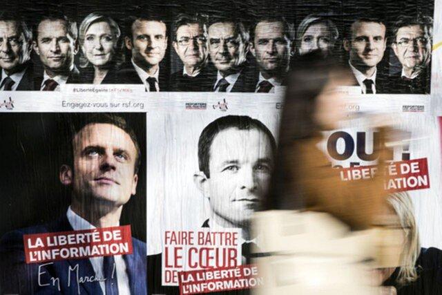 Выборы воФранции: 4  кандидата имеют шансы на 2-ой  тур