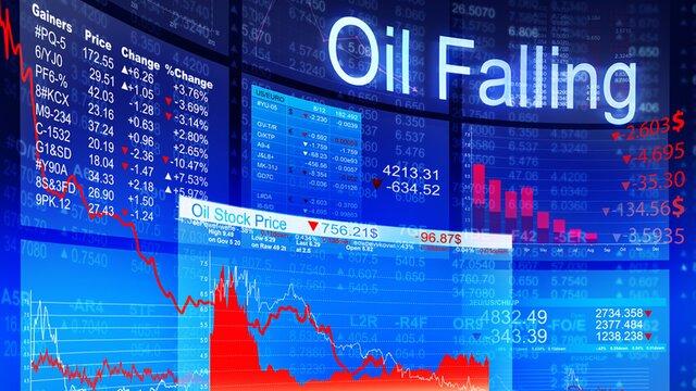 Мировые цены нанефть замедлили снижение, трейдеры застыли вожидании