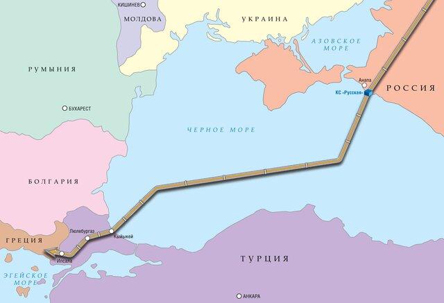 Для укладки «Турецкого потока» применят крупнейшее строительное судно