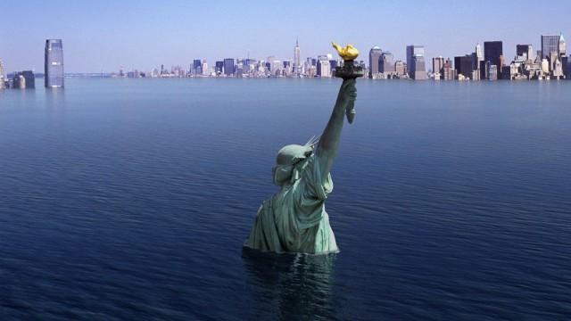 Прогноз: Флорида и Нью-Йорк уйдут под воду к 2100 г.