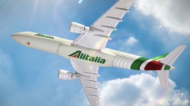 Alitalia 2-ой раз за10 лет объявила обанкротстве