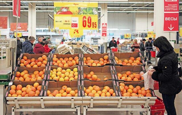 Русский импорт изТурции вырос на40,5%