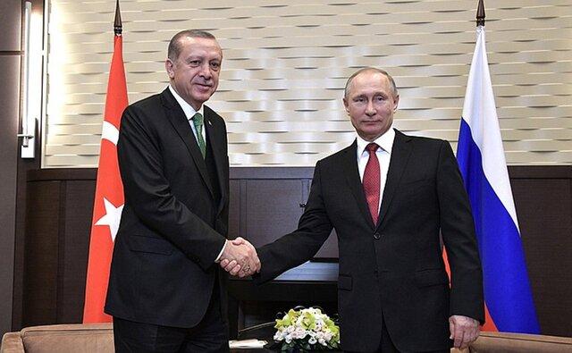 Путин иЭрдоган обсудят двустороннее сотрудничество исирийский вопрос