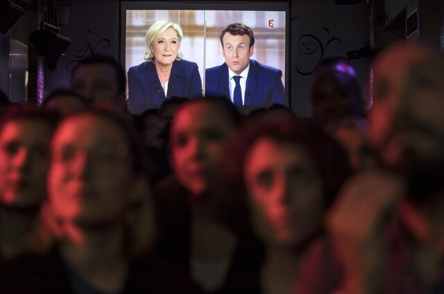Как прошли теледебаты претендентов впрезиденты Франции?