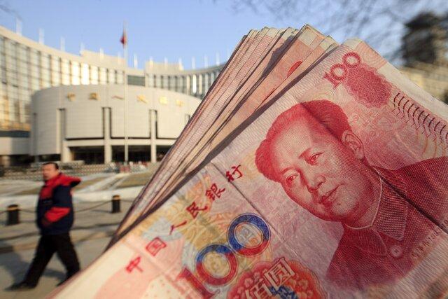 ЦБ Китая укрепил юань до максимума за 3 месяца