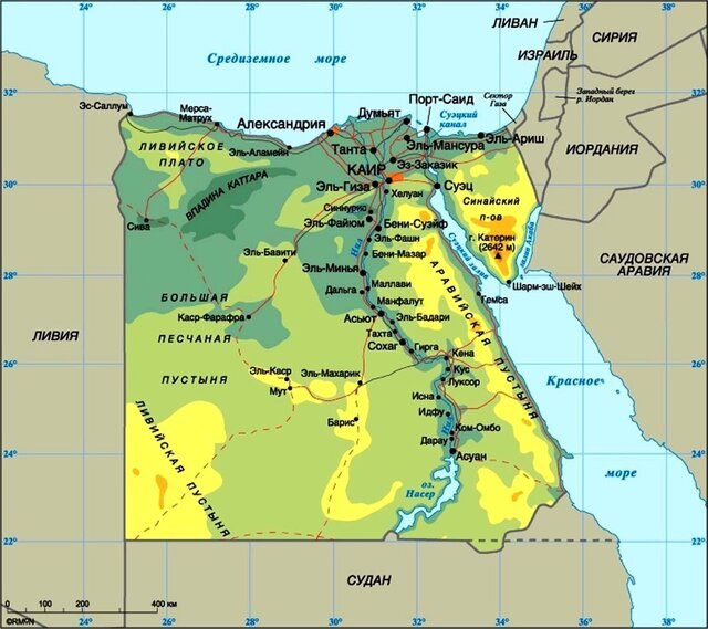 Египтеские власти планируют взять под контроль рост населения страны