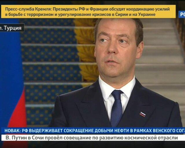Медведев: зеркальная отмена ограничений не коснется томатов
