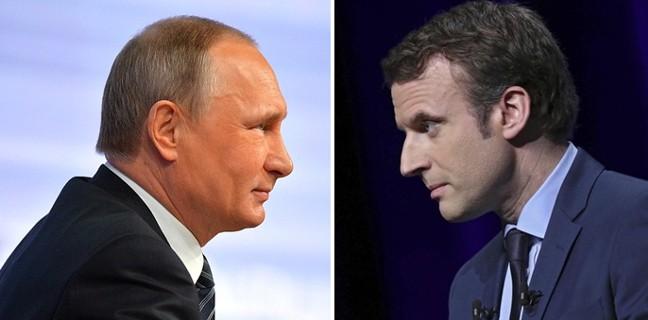 Путин и Макрон проведут переговоры 29 мая