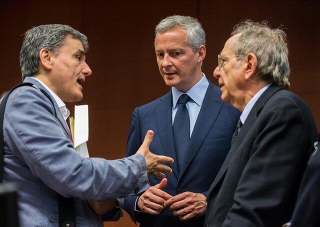 Еврогруппа несмогла договориться овыделении нового кредита Греции