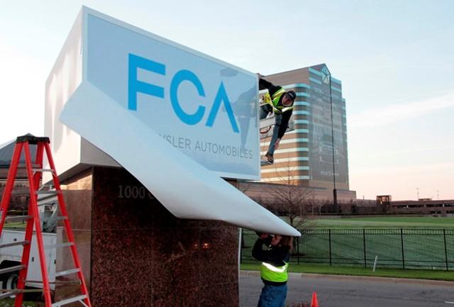 США подали иск против Fiat Chrysler Automobiles