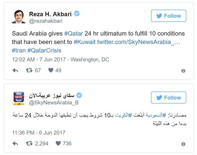 Страны Персидского залива иЕгипет закрыли небо для авиалиний Катара