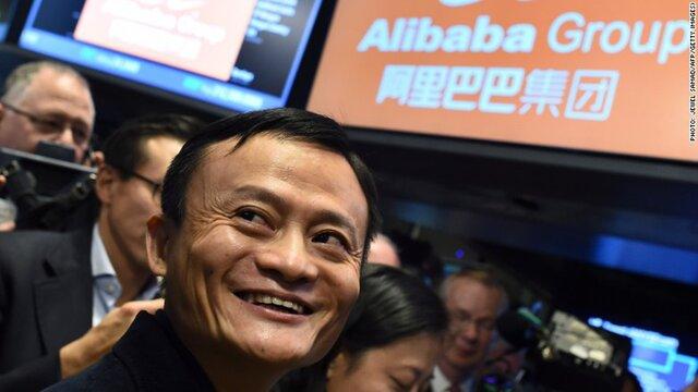 Руководитель Alibaba засутки стал богаче на2,8 млрд долларов