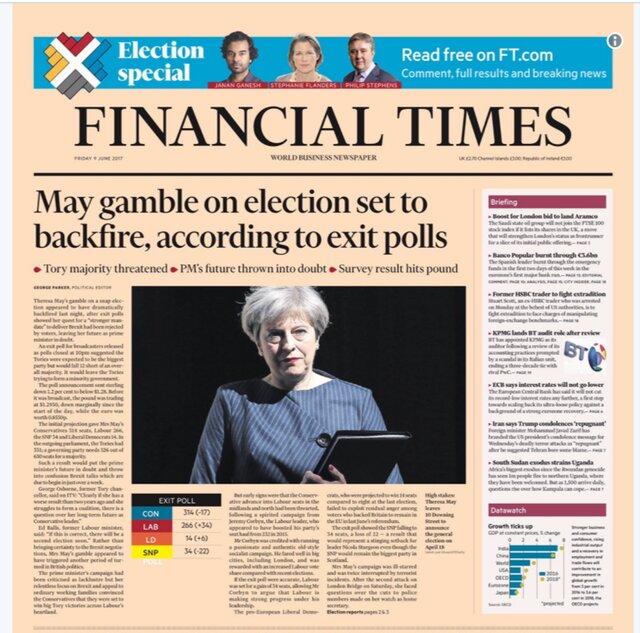 Шок и хаос: итоги выборов в Великобритании