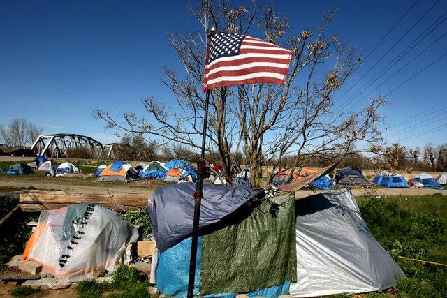 Бедность в США из городов идет в пригороды
