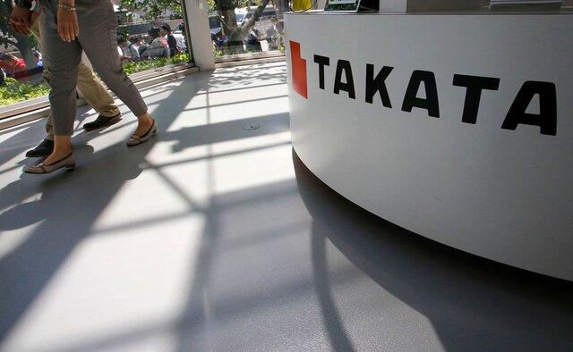 Производитель подушек безопасности Takata объявит обанкротстве