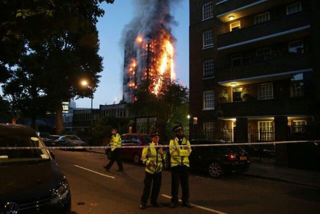 После пожара: в Лондоне прошли акции протеста