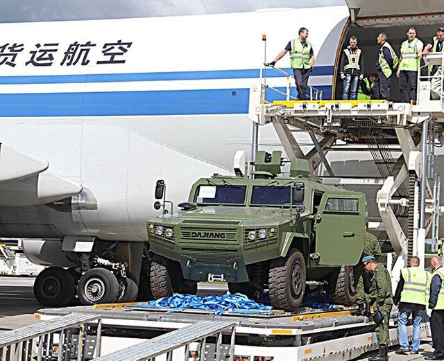 Китай шлет военные подарки Белоруссии и Сербии