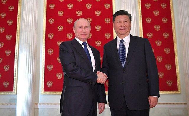 Путин встретился сСиЦзиньпином