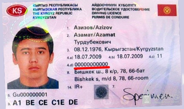 """""""Серанис"""" Водительское удостоверение для граждан снг новый закон 2017 трудно"""