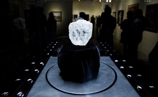 На алмаз в 1109 карат не нашлось покупателя